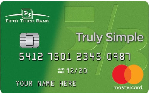 fifth third bank truly simple credit card