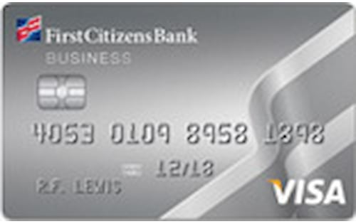 first citizens visa business credit card