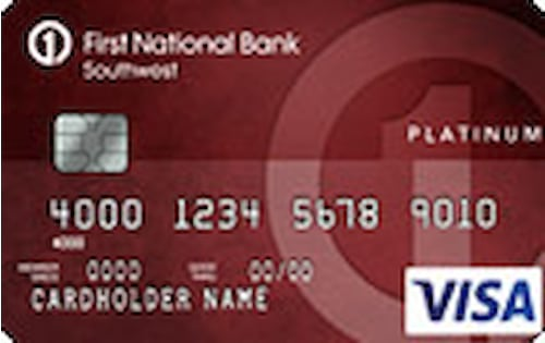 first national bank southwest platinum edition credit card