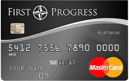 first progress platinum select mastercard