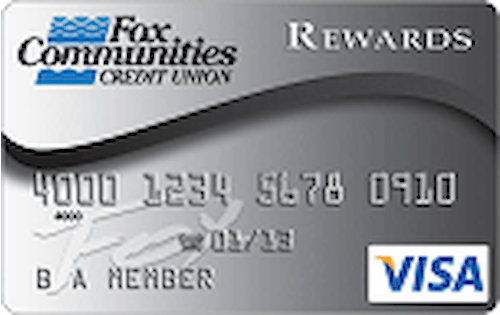 fox communities credit union rewards credit card