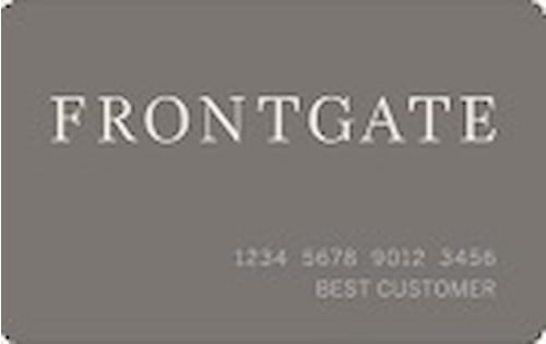 frontgate credit card