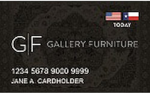 gallery furniture credit card