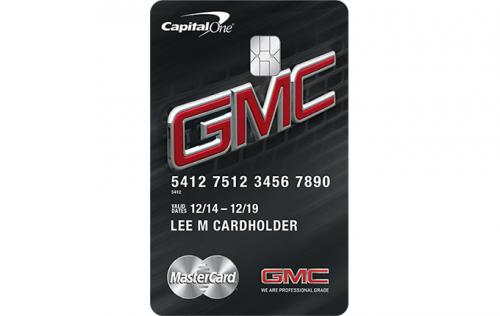 gmc credit card