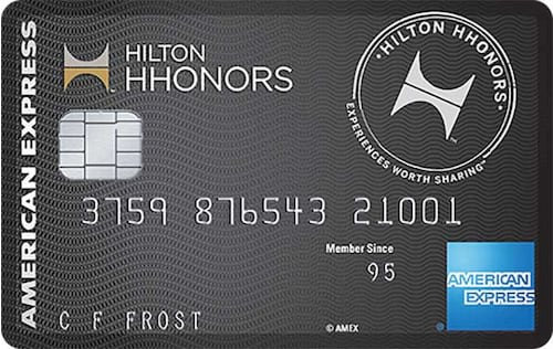 hilton hhonors surpass credit card