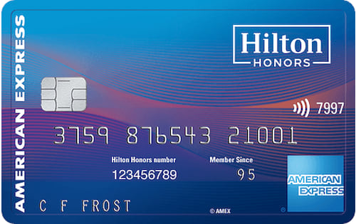 hilton honors ascend credit card