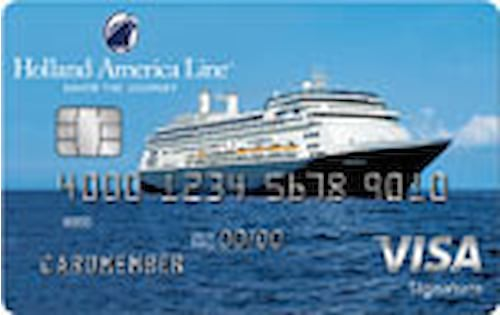 holland america line credit card