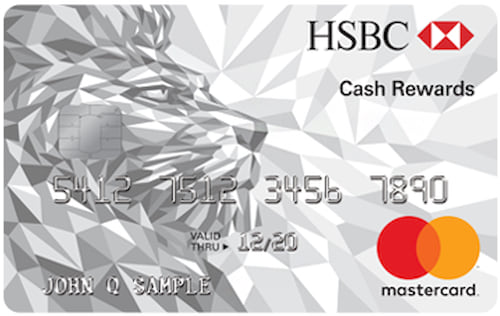 hsbc cash rewards mastercard credit card