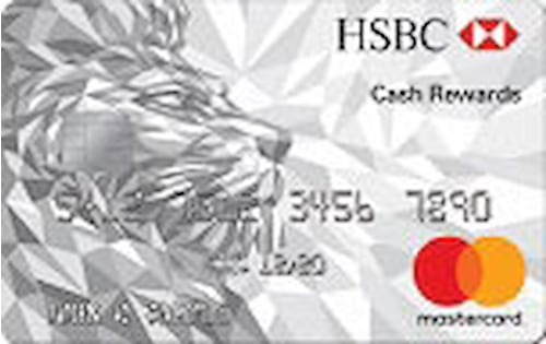 hsbc cash rewards mastercard credit card student account