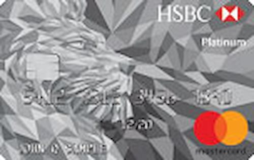 hsbc platinum mastercard credit card