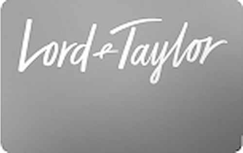 lord and taylor credit card