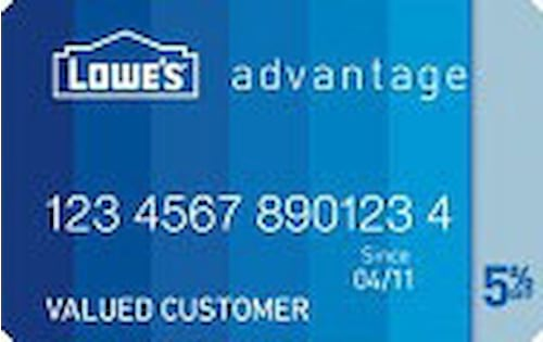 lowes store card