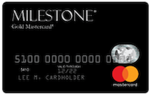 milestone credit card