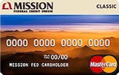 mission federal credit union classic credit card