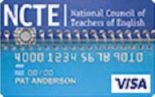 national council of teachers of english cash rewards visa platinum card