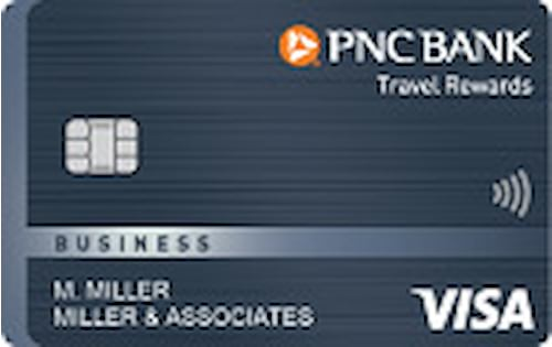 pnc bank travel rewards visa business credit card