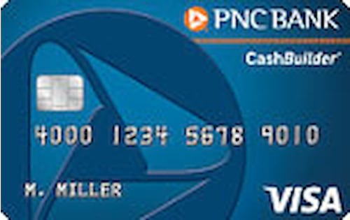 PNC CashBuilder Visa Credit Card Reviews