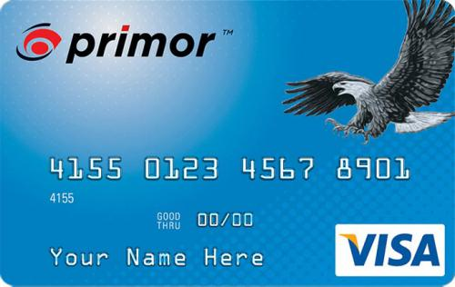 primor credit card