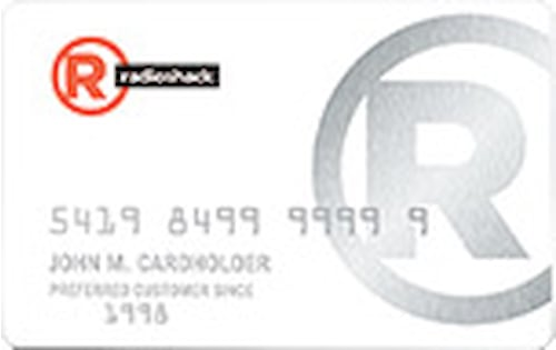 radio shack store card