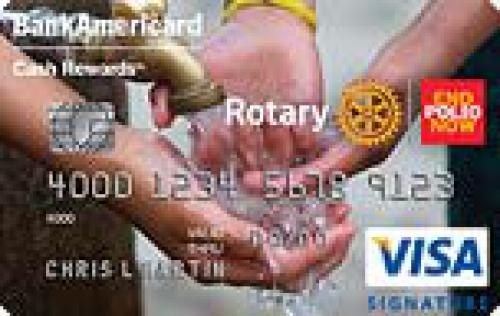 rotary international credit card