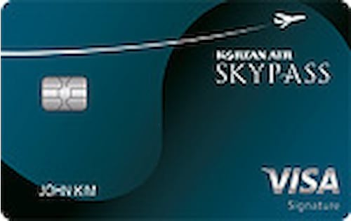 skypass select visa signature credit card
