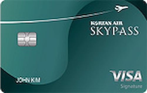 skypass visa signature credit card