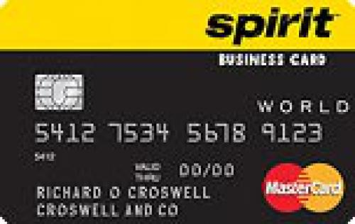 spirit airlines business credit card