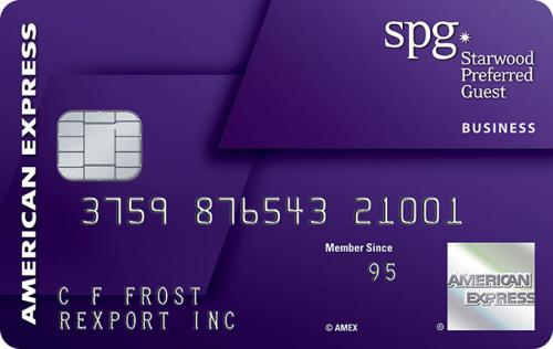 starwood business credit card