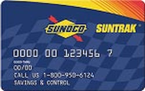sunoco business gas card