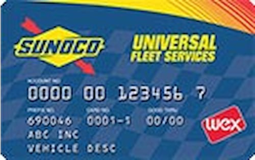 sunoco gas card