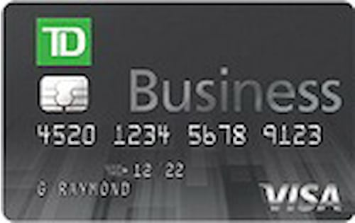 td bank easy rewards business visa credit card