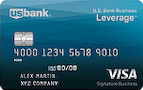 u s bank business leverage visa signature card