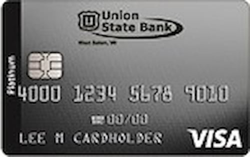 union state bank of west salem cash rewards visa