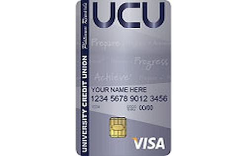 university credit union platinum rewards credit card