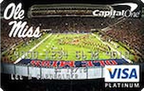 university of mississippi credit card