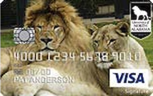university of north alabama credit card
