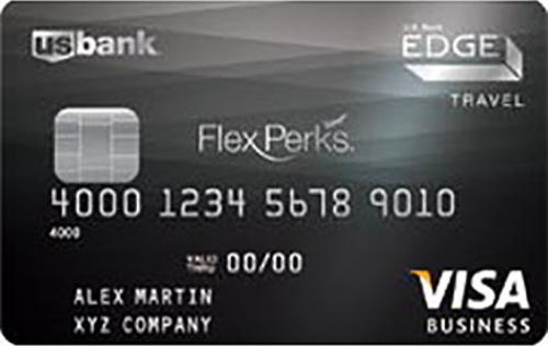 us bank flexperks business edge travel rewards card