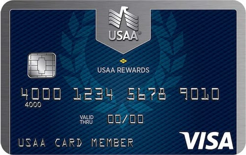 usaa point rewards visa