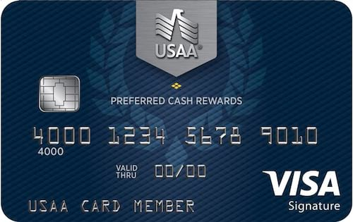 usaa preferred cash rewards visa