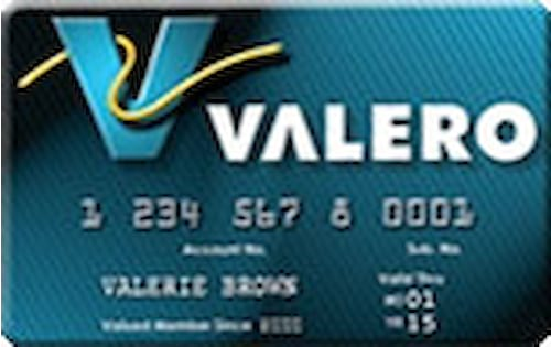 valero gas card
