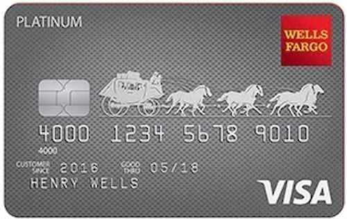 wells fargo platinum credit card