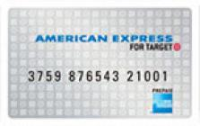 american express for target prepaid card
