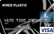 wired plastic prepaid card