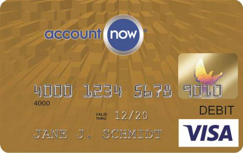 account now gold visa