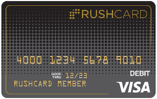 Rush card activation fee