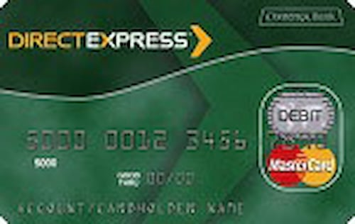 Direct express card expired