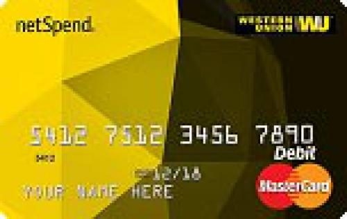 Western Union NetSpend Prepaid MasterCard - Pay As You Go