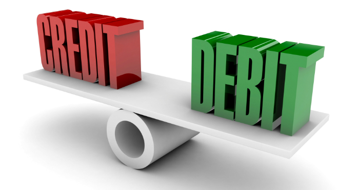 debt and credit Debits and credits this article will help you understand an important distinction in accounting and bookkeeping- the difference between a credit and debit.