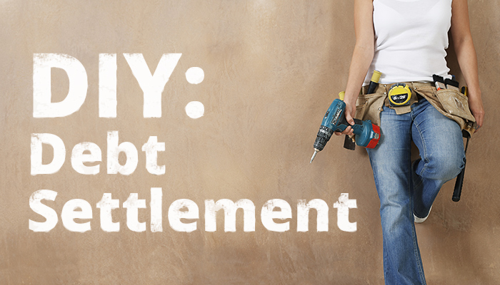 How can I rebuild my credit and buy a house after completing debt settlement?
