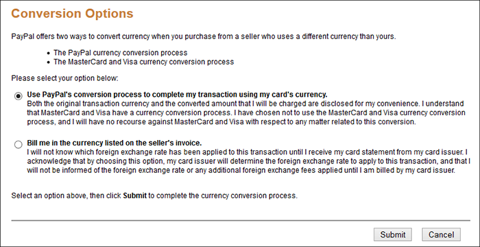 Paypal Currency Conversion 31